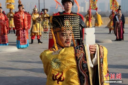 """今日冬至:古代皇帝举行祭天典礼官府举行""""贺冬""""仪式"""