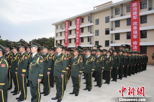 东部战区陆军成立大会现场。 朱志刚 摄