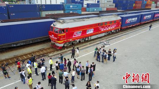 深圳开行首趟中欧班列