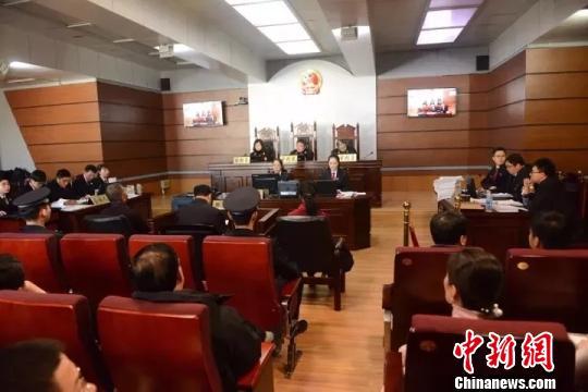 图为庭审现场。兴安盟中级人民法院供图