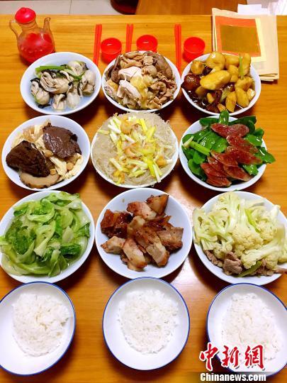 海内外台山人的团年饭