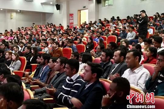 662名国际留学生西安交通大学入学