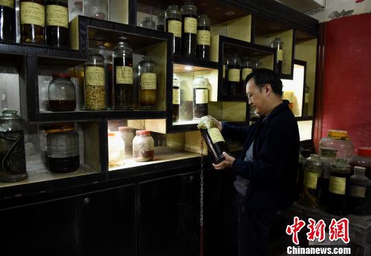 重慶民間醫藥博物館5萬余件藏品展示中醫文化