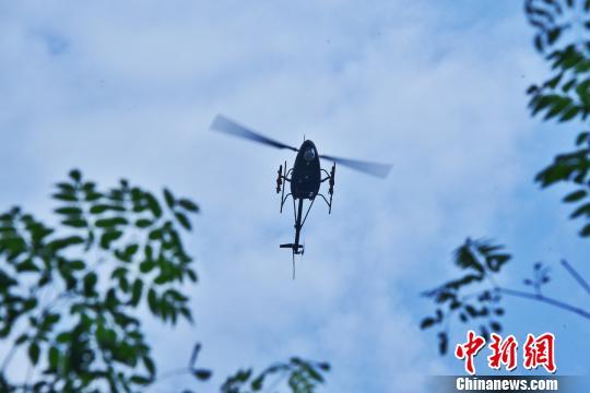 国产AV500W察打无人直升机完成靶试续航时间达5小时(图)