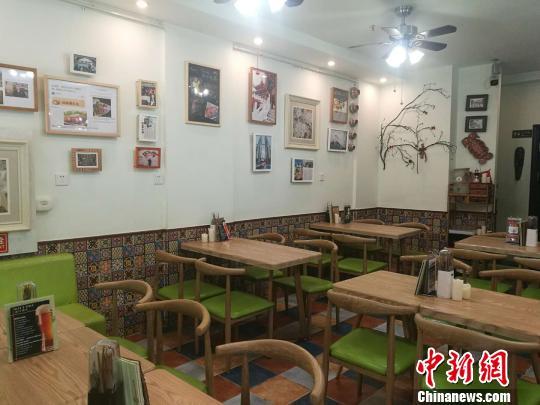 中国侨网可美马来西亚餐厅环境。 起钰婷 摄
