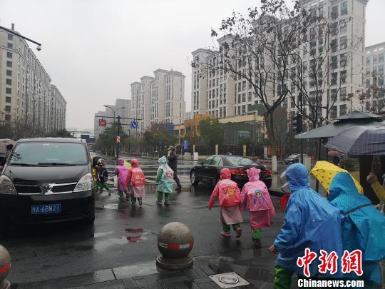 浙江多地迎雨水天气。 张煜欢 摄