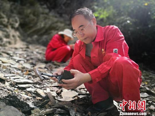张文正和他的科研团队野外露宿研究。(资料图) 徐志武 摄