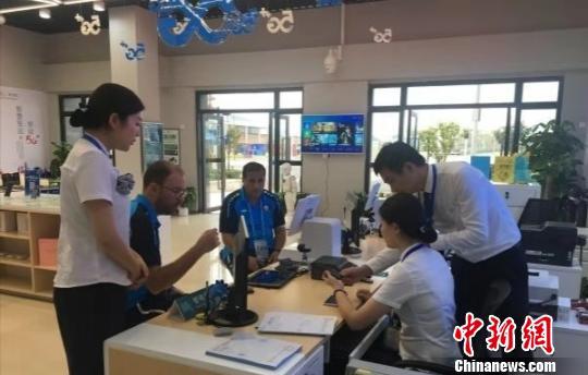 """武汉军运村""""5G营业厅"""":360度全景直播军运会赛事"""