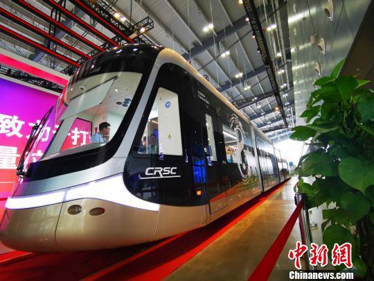 中国轨道交通装备博览会长沙开幕 近二十国采购团参会