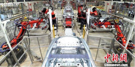 特斯拉上海超级工厂启动试生产 内部照片首次曝光
