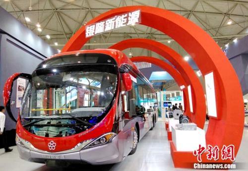 银隆新能源亮相成都 探索城市交通发展新动能