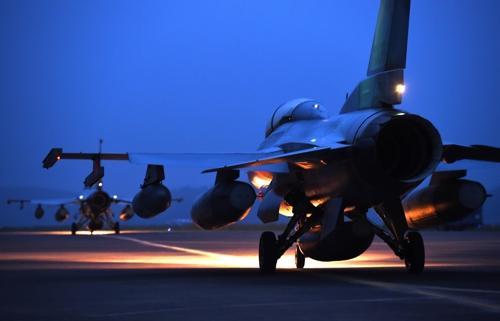 KF-16战斗机。(图片来源:韩联社)