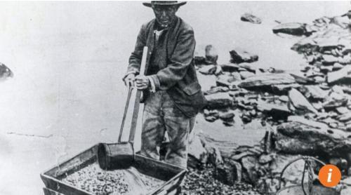 早期的中国淘金者,他们依靠勤奋和智慧赢得了当地人的尊重。