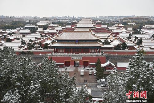 雪后的紫禁城一片银装素裹。金硕