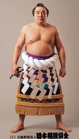 资料图:日马富士。来源:日本相扑协会官网