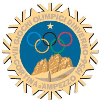 1956年第7届科蒂纳丹佩佐冬奥会会徽