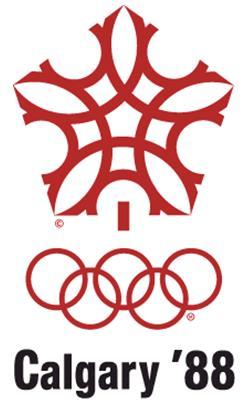 1988年第15届卡尔加里冬奥会会徽
