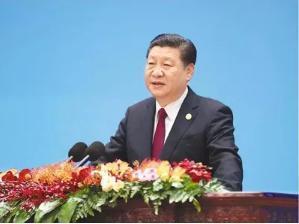 2017年12月1日,中共中央总书记、国家主席习近平在北京人民大会堂出席中国共产党与世界政党高层对话会开幕式,并发表题为《携手建设更加美好的世界》的主旨讲话。