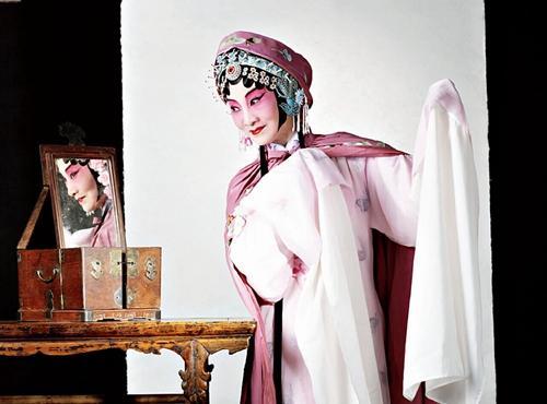 沈世华戏装扮相十分秀美。受访者供图
