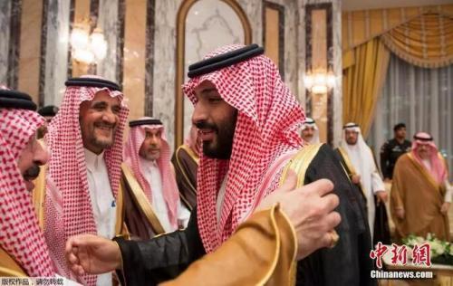 资料图:沙特王储萨勒曼
