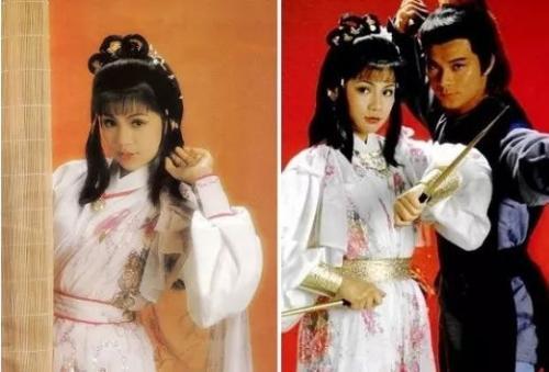 翁美玲 1983《射雕英雄传》饰黄蓉。来源:金鹰网