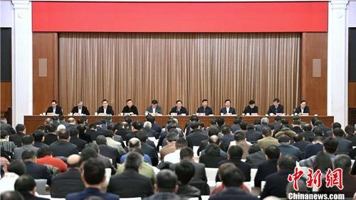 上海市召开进一步优化营商环境工作会议。陈正宝 摄