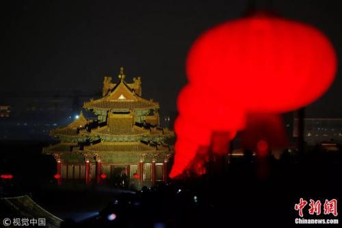 北京故宫博物院。图片来源:视觉中国