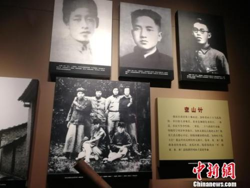 资料图:井冈山革命博物馆中展示的史料。 苏路程 摄