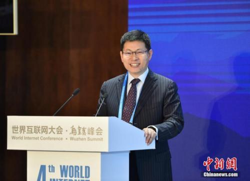 华为消费者业务首席执行官(CEO)余承东。 李卿 摄