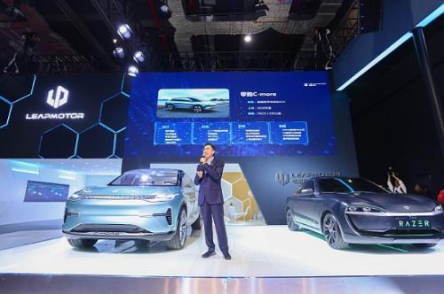 零跑汽车携3款车型亮相2019上海车展