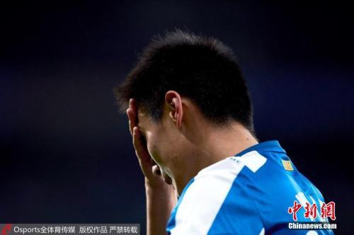 盡管未能幫助球隊取勝,但武磊的表現已經相當出色。 圖片來源:Osports全體育圖片社