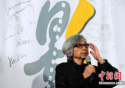 材料图:山田洋次。a target='_blank' href='http://www.chinanews.com/'种孤社/a收 侯宇 摄