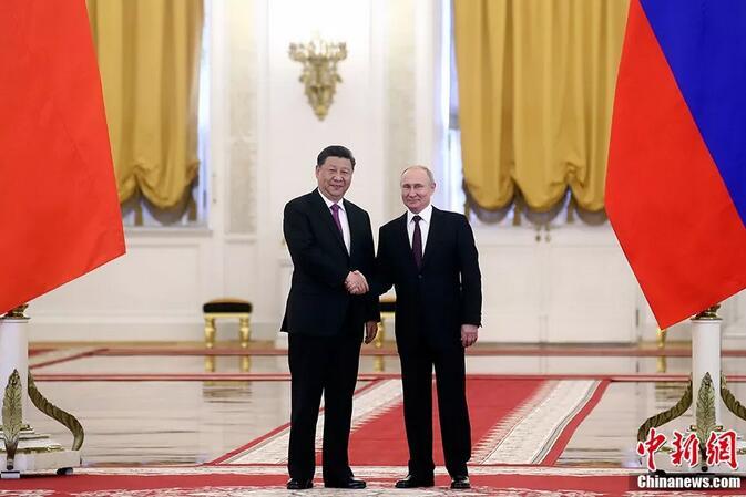 """兩只大熊貓旅居俄羅斯!習近平普京為其""""開館"""""""