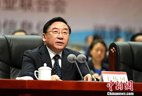 资料图:福建省委书记于伟国。 中新社记者 王东明 摄
