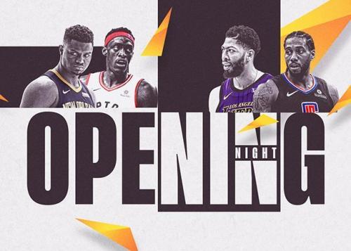 NBA新赛季赛程公布。圖片來源:NBA中国官方网站