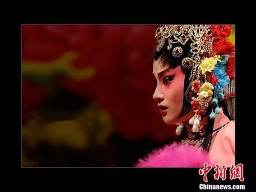 王玉梅演川劇時的劇照。受訪者供圖