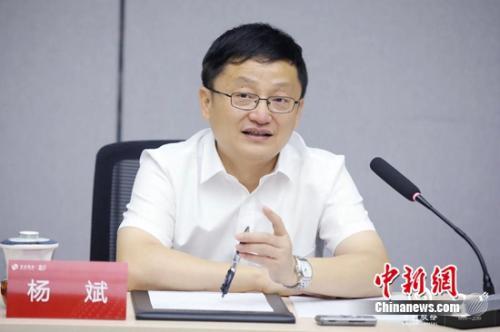 初创股分党委副书记、总司理杨斌