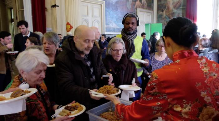 中华美食走进联合国教科文组织。
