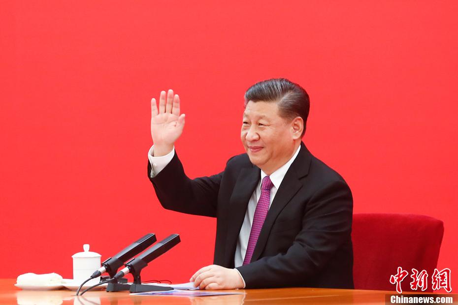 12月2日,中国国家主席习近平在北京同俄罗斯总统普京视频连线,共同见证中俄东线天然气管道投产通气仪式。<a target='_blank' href='http://eudg.cn/'>中新社</a>记者 盛佳鹏 摄