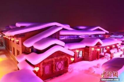 哈尔滨雪乡。于琨 摄