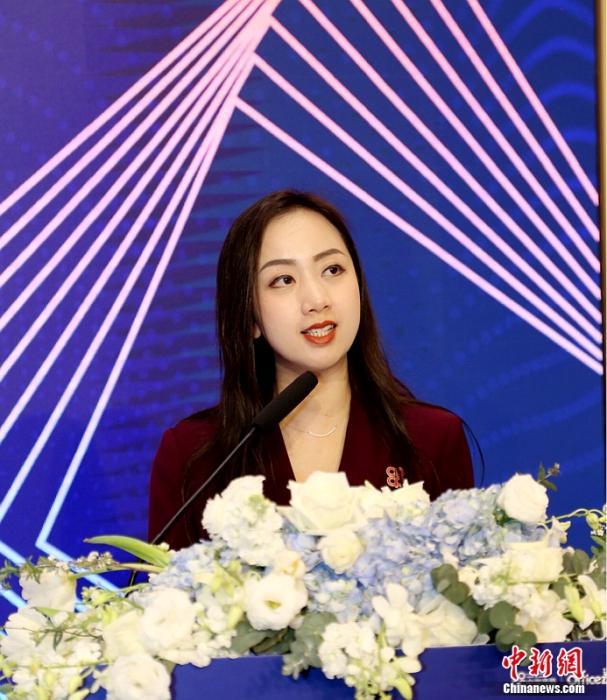 中海商业副总经理唐安琪发表致辞