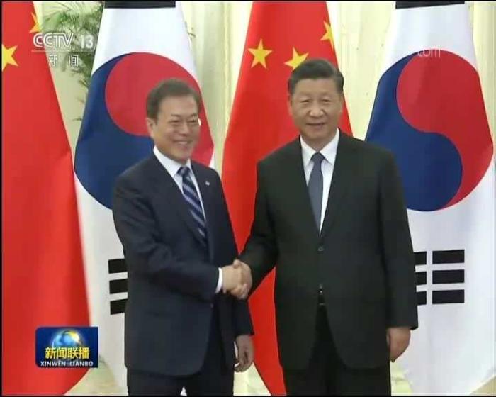 摩杰测速:关于新时代中日韩关系,习近平同韩日领导人谈了这几点
