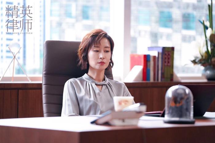 """《精英律师》热播 刘敏涛与靳东剧中""""互怼"""""""