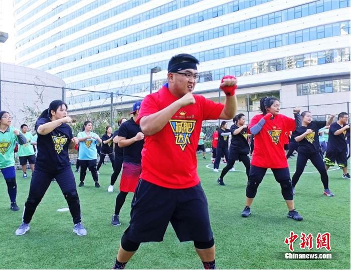 减肥训练营采用的是吃住训练一体化的全封闭模式