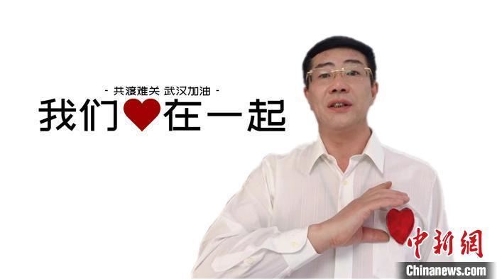 """图为孙涌智在MV中献""""声""""。 受访者供图 摄"""