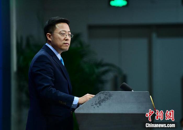 外交部新任发言人赵立坚。