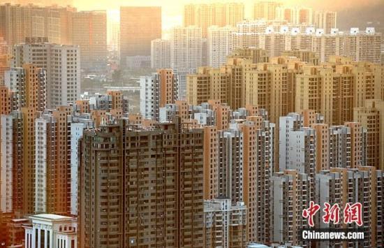 资料图:福建省龙岩市区一处房地产楼盘。<a target='_blank' href=