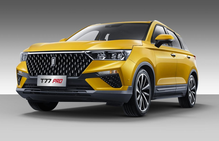 一汽奔腾T77 PRO上市10.58万元起售 年内将再推三款全新车型