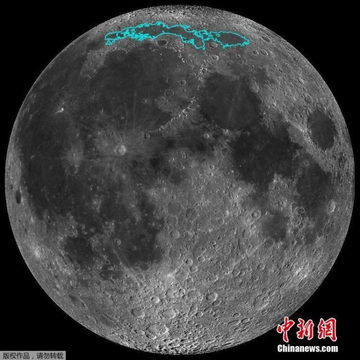 资料图:月球。