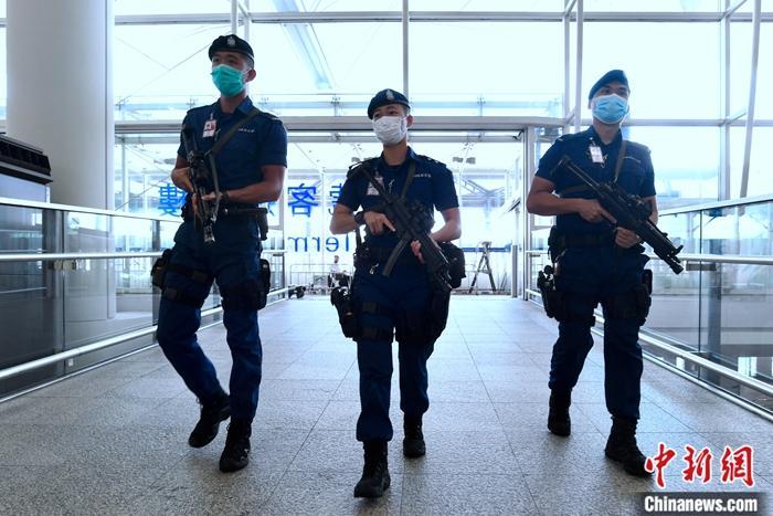 香港机场特警首位女主管:警务工作是放大后的篮球运动